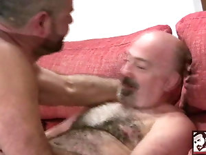 Spanish Bear Blowjob with Rodrigo Toro and Arturo Granadino
