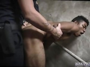 Gay leather cops in bondage and sexy nude police man movietures first