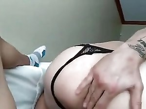 Cock sucking and ass play