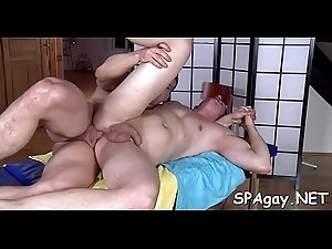 Gripping and wild homosexual sex