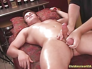 Horny straight stuff rubbed and tugged